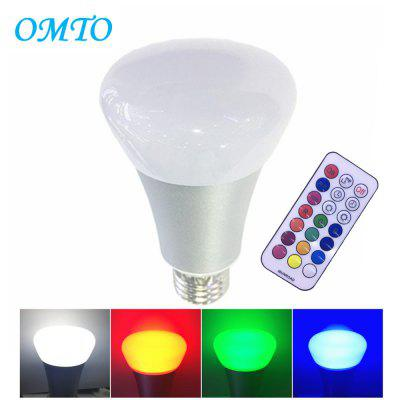 Buy SILVERY OMTO E27 10W A19 Timing Remote Controller RGBW Color Changing LED Light Bulbs,Dimmable 85-265V,Daylight White and Color Ambiance Extension for $11.06 in GearBest store