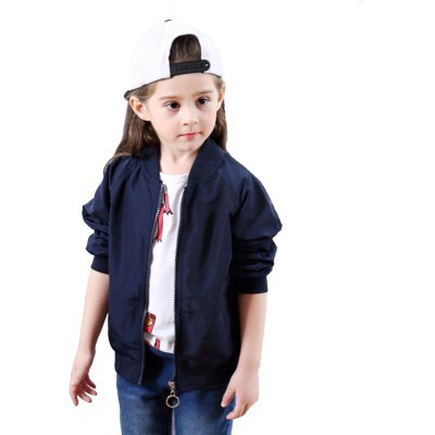 Girls Autumn Style Long Sleeved Jacket Frog Pattern