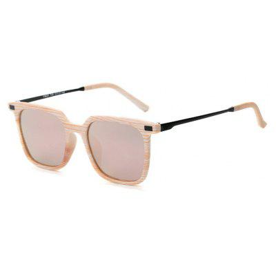 Buy PINK FRAME+PINK LENS TOMYE 9926 2017 New PC Metal Square Fashion Polarized Sunglasses for Men and Women for $15.52 in GearBest store