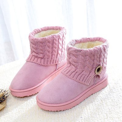 Anti-Skid Boots Female Winter Wool Frosted Short Thick Soled Shoes With Flat Tube Snow Cashmere Thermal Short BootsWomens Boots<br>Anti-Skid Boots Female Winter Wool Frosted Short Thick Soled Shoes With Flat Tube Snow Cashmere Thermal Short Boots<br><br>Boot Height: Ankle<br>Boot Type: Snow Boots<br>Closure Type: Slip-On<br>Gender: For Women<br>Heel Type: Flat Heel<br>Package Contents: 1XShoes(pair)<br>Pattern Type: Others<br>Season: Winter<br>Toe Shape: Round Toe<br>Upper Material: Microfiber<br>Weight: 1.2800kg