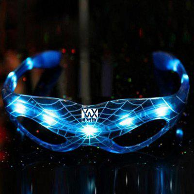 YWXLight LED Spider Man Occhiali Lampaggianti Party di Halloween Decorazione
