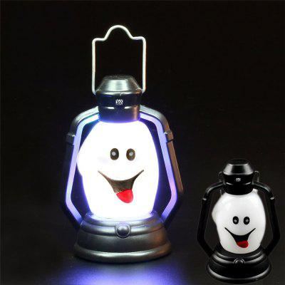 YWXLight Halloween Festival Props LED Lantern Night LightNovelty lighting<br>YWXLight Halloween Festival Props LED Lantern Night Light<br><br>Available Light Color: RGB<br>Brand: YWXLight<br>Color: White<br>Holder: Other<br>Input Voltage: DC 5V<br>Luminous Flux: 100 LM<br>Material: Plastic<br>Package Contents: 1 x YWXLight LED Lamp, 3 x  AG13 Battery<br>Package size (L x W x H): 10.00 x 7.00 x 7.00 cm / 3.94 x 2.76 x 2.76 inches<br>Package weight: 0.0320 kg<br>Power Source: Button Cell<br>Product size (L x W x H): 8.00 x 5.00 x 5.00 cm / 3.15 x 1.97 x 1.97 inches<br>Product weight: 0.0290 kg<br>Suitable for: Party, Home Decoration, Holiday Decoration<br>Wattage: 0.5W