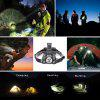 U`King ZQ - X846 4000LM XML -T6 Plus Q5 Headlamp - SILVER AND BLACK