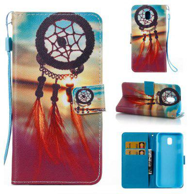Buy COLORMIX Wind Chimes Painted PU Phone Case for Painted PU Phone Case for Samsung Galaxy J530 for $5.48 in GearBest store