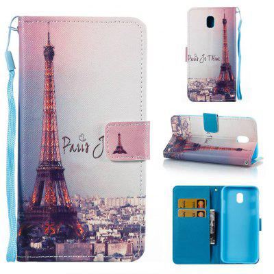 Buy COLORMIX Signature Tower Painted PU Phone Case for Painted PU Phone Case for Samsung Galaxy J530 for $5.48 in GearBest store