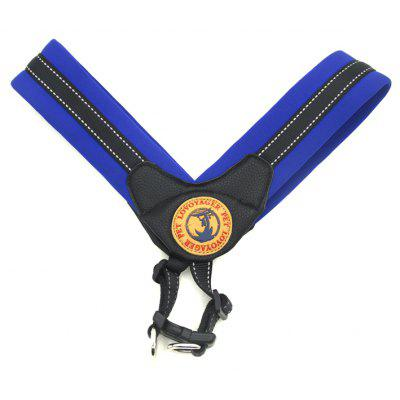 Buy DEEP BLUE M Lovoyager LVH16004 Reflective Small Large Dog Harness Portable Pet Dog Training Vest Collar with Bright Color S To L for $14.74 in GearBest store