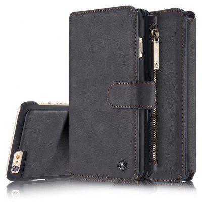 CaseMe Genuine Leather Holster Wallet Stand Case for iPhone 6 / 6s