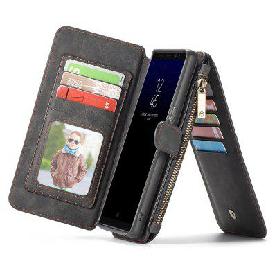 CaseMe Genuine Leather Holster Wallet Case for Samsung Galaxy Note 8