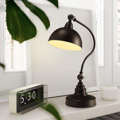 Lanshi Vintage Metal Reading Desk LampTable Lamps<br>Lanshi Vintage Metal Reading Desk Lamp<br><br>Brand: Lanshi<br>Bulb Base: E26<br>Bulb Included: No<br>Certifications: CE,FCC<br>Decoration Material: Metal<br>Electric Products: Supporting Electrical Products<br>Features: Creative<br>Finish (??????????): Black<br>Fixture Material: Metal<br>Light Direction: Downlight<br>Overall Height ( CM ): 46<br>Overall Length ( CM ): 20<br>Package Contents: 1 x The Lamp Body, 1 x Installation Instruction<br>Package size (L x W x H): 50.00 x 24.00 x 24.00 cm / 19.69 x 9.45 x 9.45 inches<br>Package weight: 3.6000 kg<br>Power Supply: Power Plug<br>Product size (L x W x H): 20.00 x 20.00 x 46.00 cm / 7.87 x 7.87 x 18.11 inches<br>Product weight: 3.2000 kg<br>Production Models: Self-produce<br>Shade Material: Metal<br>Style: Metallic, Creative, Antique<br>Switch Type: On or Off Switch<br>Type: Desk Lamp<br>Voltage ( V ): 110-120<br>Wattage: 60<br>Wattage per Bulb ( W ): 60