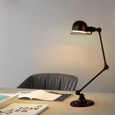 Lanshi Retro Vintage Industrial Metal Adjustable Desk LampTable Lamps<br>Lanshi Retro Vintage Industrial Metal Adjustable Desk Lamp<br><br>Brand: Lanshi<br>Bulb Base: E26<br>Bulb Included: No<br>Certifications: CE,FCC<br>Decoration Material: Metal<br>Electric Products: Supporting Electrical Products<br>Features: Creative<br>Finish (??????????): Black<br>Fixture Material: Metal<br>Light Direction: Downlight<br>Overall Height ( CM ): 60<br>Overall Length ( CM ): 25<br>Package Contents: 1 x The Lamp Body, 1 x Installation Instruction<br>Package size (L x W x H): 30.00 x 30.00 x 20.00 cm / 11.81 x 11.81 x 7.87 inches<br>Package weight: 3.0000 kg<br>Power Supply: Power Plug<br>Product weight: 2.7000 kg<br>Production Models: Self-produce<br>Shade Material: Metal<br>Style: Artistic Style, Chic/Modern, Metallic, Antique<br>Switch Type: On or Off Switch<br>Type: Desk Lamp<br>Voltage ( V ): 110-120<br>Wattage: 60<br>Wattage per Bulb ( W ): 60