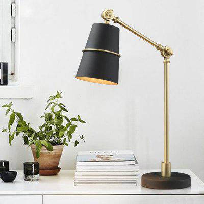Lanshi D - 8119 Modern Metal Table Lamp E14Table Lamps<br>Lanshi D - 8119 Modern Metal Table Lamp E14<br><br>Brand: Lanshi<br>Bulb Included: No<br>Certifications: CE,FCC<br>Decoration Material: Metal<br>Electric Products: Supporting Electrical Products<br>Features: Creative, Novelty, Swing Arm Lamps<br>Finish (??????????): Black,Brass<br>Fixture Material: Metal<br>Light Direction: Downlight<br>Overall Height ( CM ): 60<br>Overall Length ( CM ): 15<br>Overall Width ( CM ): 15<br>Package Contents: 1 ? Table Lamp, 1 ? Installation Instruction<br>Package size (L x W x H): 34.00 x 19.00 x 17.00 cm / 13.39 x 7.48 x 6.69 inches<br>Package weight: 2.8000 kg<br>Power Supply: Power Plug<br>Product size (L x W x H): 15.00 x 15.00 x 60.00 cm / 5.91 x 5.91 x 23.62 inches<br>Product weight: 2.4000 kg<br>Production Models: Self-produce<br>Shade Material: Metal<br>Style: Artistic Style, Chic/Modern, Creative, Metallic<br>Switch Type: On or Off Switch<br>Type: Desk Lamp<br>Voltage ( V ): 220V - 240V<br>Wattage: 40<br>Wattage per Bulb ( W ): 40