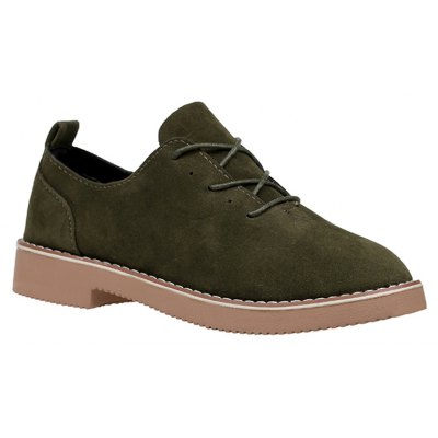 British Style Leather Shoes New Lace UPS Single Shoes Women's Whoes