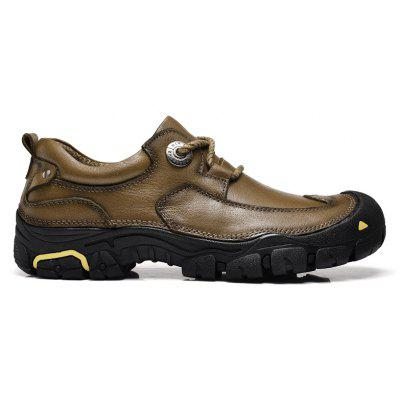 Outdoor Shoes MenS Leisure Shoes Leather Shoes Wide Head MenS ShoesCasual Shoes<br>Outdoor Shoes MenS Leisure Shoes Leather Shoes Wide Head MenS Shoes<br><br>Available Size: The international mens shoes size table<br>Closure Type: Lace-Up<br>Embellishment: Fur<br>Gender: For Men<br>Insole Material: Hipoly insole, Bonded Leather<br>Lining Material: Cotton Fabric<br>Occasion: Casual<br>Outsole Material: Rubber<br>Package Contents: 1XShoes<br>Pattern Type: Solid<br>Season: Winter, Spring/Fall<br>Shoe Width: Medium(B/M)<br>Toe Shape: Round Toe<br>Toe Style: Closed Toe<br>Upper Material: Genuine Leather<br>Weight: 1.4852kg