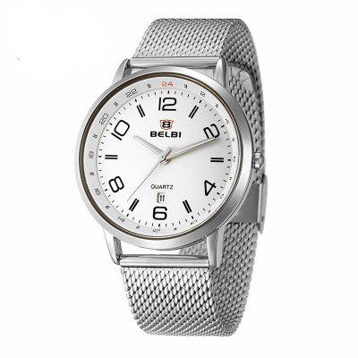 BELBI 5814 4409 Trendy Zinc Alloy Band Men Watch