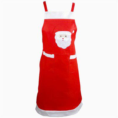 AY - hq243 Santa Claus Aprons Christmas Decoration