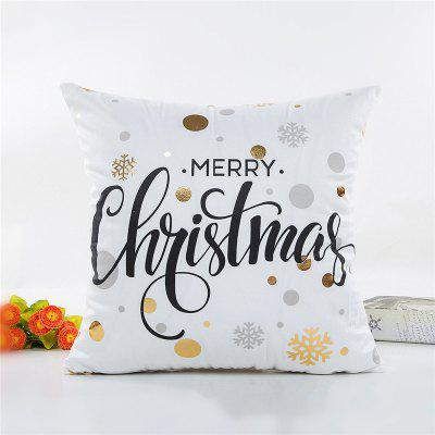 Buy Christmas Decoration Pillowcase Soft Pillow Cover, WHITE, Home & Garden, Home Textile, Bedding, Pillow for $4.81 in GearBest store