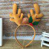 Christmas Kids Antlers Headband for Party - BROWN