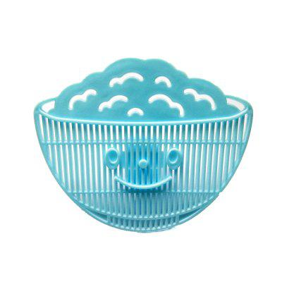 Clip-on Design Colanders Smilling Face Kitchen Strainers