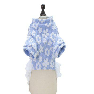 Lovoyager A74 Hot Sales Soft Cotton Cute Dog ClothesDog Clothing &amp; Shoes<br>Lovoyager A74 Hot Sales Soft Cotton Cute Dog Clothes<br><br>Color: Pink,Blue<br>For: Dogs<br>Functions: Others<br>Item: dog dress<br>Material: Cotton,  mesh, Cotton<br>Package Contents: 1  x  Dog Dress<br>Package size (L x W x H): 27.00 x 20.00 x 3.00 cm / 10.63 x 7.87 x 1.18 inches<br>Package weight: 0.1500 kg<br>Season: Spring, Autumn<br>Size: Others<br>Type: Others