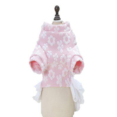 Lovoyager A74 Hot Sales Soft Cotton Cute Dog ClothesDog Clothing &amp; Shoes<br>Lovoyager A74 Hot Sales Soft Cotton Cute Dog Clothes<br><br>Color: Pink,Blue<br>For: Dogs<br>Functions: Others<br>Item: dog dress<br>Material: Cotton,  mesh, Cotton<br>Package Contents: 1  x  Dog Dress<br>Package size (L x W x H): 27.00 x 20.00 x 3.00 cm / 10.63 x 7.87 x 1.18 inches<br>Package weight: 0.1000 kg<br>Season: Spring, Autumn<br>Size: Others<br>Type: Others