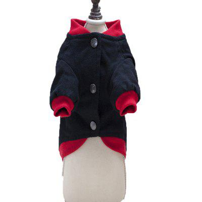 Lovoyager A710 Dog Letter Jacket with Thick PlateDog Clothing &amp; Shoes<br>Lovoyager A710 Dog Letter Jacket with Thick Plate<br><br>Color: Black,Red<br>For: Dogs<br>Functions: Others<br>item: dog  jackets<br>Material: Cotton<br>Package Contents: 1 x Dog coat<br>Package size (L x W x H): 35.00 x 25.00 x 5.00 cm / 13.78 x 9.84 x 1.97 inches<br>Package weight: 0.1300 kg<br>Season: Winter, Autumn<br>Size: Others<br>style: canvas jacket  for teddy?bulldog<br>Type: Others