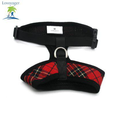 Lovoyager LVC1705 Soft Mesh Breathable Pet Dog Harness Vest and Adjustable CollarDog Carriers<br>Lovoyager LVC1705 Soft Mesh Breathable Pet Dog Harness Vest and Adjustable Collar<br><br>Color: Blue,Red,Yellow<br>For: Dogs<br>Functions: Others<br>Item: pet harness<br>Material: Nylon<br>Occasion: Outdoor/Travel/Sport/Running Jogging<br>Package Contents: 1 x Pet Harness<br>Package size (L x W x H): 20.00 x 15.00 x 3.00 cm / 7.87 x 5.91 x 1.18 inches<br>Package weight: 0.1000 kg<br>Season: Spring, Summer<br>Size: L,M,S,XL<br>Type: Shoes