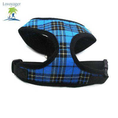 Lovoyager LVC1705 Soft Mesh Breathable Pet Dog Harness Vest and Adjustable CollarDog Carriers<br>Lovoyager LVC1705 Soft Mesh Breathable Pet Dog Harness Vest and Adjustable Collar<br><br>Color: Blue,Red,Yellow<br>For: Dogs<br>Functions: Others<br>Item: pet harness<br>Material: Nylon<br>Occasion: Outdoor/Travel/Sport/Running Jogging<br>Package Contents: 1 x Pet Harness<br>Package size (L x W x H): 20.00 x 15.00 x 3.00 cm / 7.87 x 5.91 x 1.18 inches<br>Package weight: 0.0900 kg<br>Season: Spring, Summer<br>Size: L,M,S,XL<br>Type: Shoes