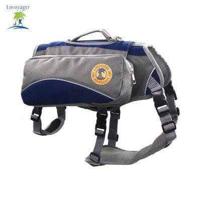 Lovoyager VB16012 Outdoor Pet Saddle Bag Harness Multifunctional Training Hiking Pouch for Large DogDog Carriers<br>Lovoyager VB16012 Outdoor Pet Saddle Bag Harness Multifunctional Training Hiking Pouch for Large Dog<br><br>Color: Red,Blue<br>For: Dogs<br>Functions: Others<br>item: Hiking Training dog Backpack<br>Material: Nylon<br>Occasion: Travel/Camping/Car/Outdoor<br>Package Contents: 1 x Dog Backpack<br>Package size (L x W x H): 35.00 x 25.00 x 10.00 cm / 13.78 x 9.84 x 3.94 inches<br>Package weight: 0.5000 kg<br>Size: Others<br>Type: Carriers