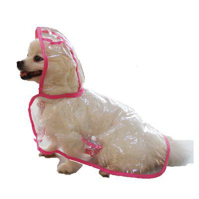 Lovoyager VC161103 Waterproof Pet Raincoat Hooded Jacket Transparent Clothing for Small Large DogDog Clothing &amp; Shoes<br>Lovoyager VC161103 Waterproof Pet Raincoat Hooded Jacket Transparent Clothing for Small Large Dog<br><br>Color: Green,Pink,Purple,White<br>For: Dogs<br>Functions: Waterproof<br>item: Pet Raincoat<br>Material: PVC<br>Package Contents: 1 x Pet Raincoat<br>Package size (L x W x H): 35.00 x 20.00 x 5.00 cm / 13.78 x 7.87 x 1.97 inches<br>Package weight: 0.3000 kg<br>Season: All seasons<br>Size: Others<br>Type: Others
