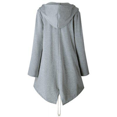 2017 New Model of The Long Style Cardigan HoodieJackets &amp; Coats<br>2017 New Model of The Long Style Cardigan Hoodie<br><br>Closure Type: Open Stitch<br>Clothes Type: Long Coat<br>Collar: Collarless<br>Elasticity: Elastic<br>Embellishment: Pockets<br>Fabric Type: Jersey<br>Material: Polyester<br>Package Contents: 1 ? Coat<br>Pattern Type: Solid<br>Shirt Length: Medium Length<br>Sleeve Length: Full<br>Style: Casual<br>Type: Wide-waisted<br>Weight: 0.5000kg