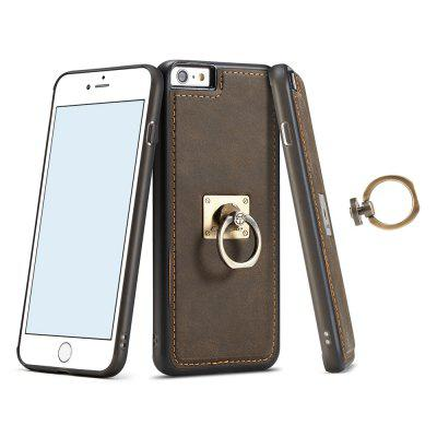 CaseMe Genuine Leather Back Cover with Stand Ring foriPhone 6 Plus / 6s