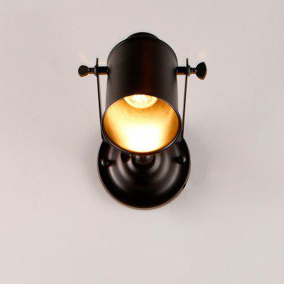 Brightness Vintage Black Metal Loft Wall LampWall Lights<br>Brightness Vintage Black Metal Loft Wall Lamp<br><br>Brand: Brightness<br>Bulb Base: E26,E27<br>Bulb Included: No<br>Finish: Painting<br>Fixture Material: Metal<br>Light Direction: Downlight<br>Number of Bulbs: 1<br>Package Contents: 1 x Light, 1 x Assembly Part<br>Package size (L x W x H): 27.00 x 14.00 x 15.00 cm / 10.63 x 5.51 x 5.91 inches<br>Package weight: 0.6000 kg<br>Power Supply: AC<br>Product size (L x W x H): 11.00 x 12.00 x 17.00 cm / 4.33 x 4.72 x 6.69 inches<br>Product weight: 0.4000 kg<br>Production Mode: Self-produce<br>Selling Point: Mini Style<br>Shade Material: Metal<br>Style: Antique, Rustic Lodge, Vintage, Vintage antique<br>Type: Wall Sconces<br>Voltage: 110-120V,220 - 240V<br>Wattage: 60W<br>Wattage per Bulb ( W ): 60
