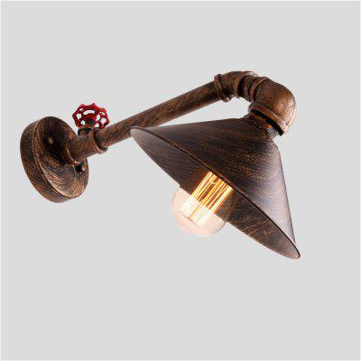Buy BRONZED Brightness Retro Industrial Style Water Pipe Wall Lamp for $60.22 in GearBest store