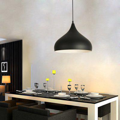 Ever - Flower Modern Minimalist Style Aluminum Pendant LightPendant Light<br>Ever - Flower Modern Minimalist Style Aluminum Pendant Light<br><br>Battery Included: No<br>Brand: Ever-Flower<br>Bulb Base: E27<br>Bulb Included: No<br>Bulb Type: Halogen,Incandescent,LED<br>Chain / Cord Adjustable or Not: Chain / Cord Adjustable<br>Chain / Cord Length ( CM ): 100<br>Dimmable: No<br>Features: Designers<br>Finish: Painting<br>Fixture Height ( CM ): 20<br>Fixture Length ( CM ): 24<br>Fixture Material: Aluminum<br>Fixture Width ( CM ): 24<br>Light Direction: Downlight<br>Number of Bulb: 1 Bulb<br>Package Contents: 1 x Lamp Body, 1 x Fittings Bag<br>Package size (L x W x H): 28.00 x 28.00 x 28.00 cm / 11.02 x 11.02 x 11.02 inches<br>Package weight: 1.0000 kg<br>Product weight: 0.4000 kg<br>Remote Control Supported: No<br>Shade Material: Aluminum<br>Stepless Dimming: No<br>Style: Country, Simple Style<br>Suggested Room Size: 10 - 15?<br>Suggested Space Fit: Bedroom,Cafes,Dining Room,Entry,Hallway,Indoors,Kitchen,Living Room<br>Type: Pendant Light<br>Voltage ( V ): AC220 - 240<br>Wattage per Bulb ( W ): 60