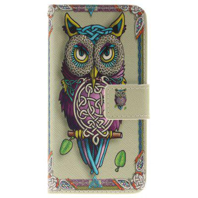Buy BLACK Owl Pattern Card Holder with Stand Flip Magnetic Full Body Cover Pu+Tpu Leather Wallet Case for Iphone 7 / 8 4.7 Inch for $4.21 in GearBest store