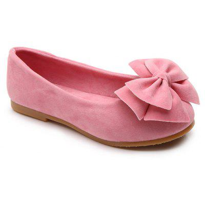 1118b6297 BZ-A06 Spring New Fashionable All-Match Jelly Girls Bow Shoes Doug Shoes -  Pink 33