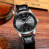 Hot Sale Cadisen Men Watches Top Luxury Sapphire Glass 50M Waterproof Automatic Mechanical Business Role Style Watch - BLACK LEATHER BAND