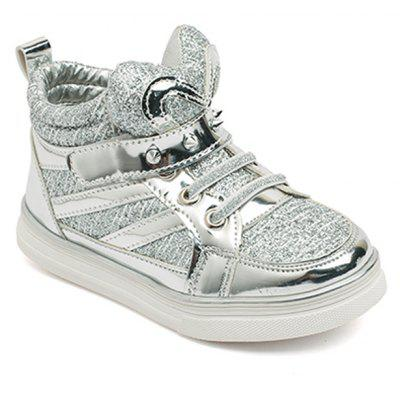 Children'S Shoes Are Shoes Casual Shoes in Sequins Student Shoes