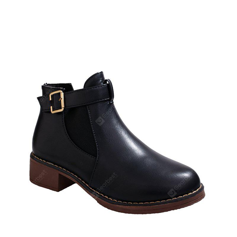 Autumn And Winter Martin Boots Flat Bottomed Boots British Boots