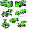Maikou 7 in 1 Solar DIY Assembling Toys Space Educational Toy - GREEN