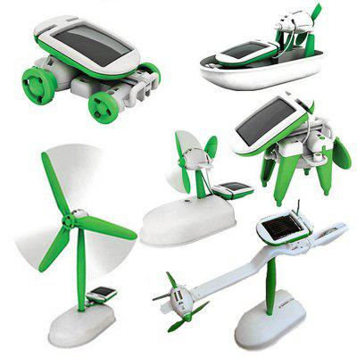 Maikou 6-in-1 Educational Solar Kit DIY Solar Energy Toys