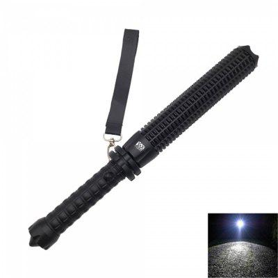 YWXLight XPE LED 500LM 6000K Telescopic Zoom Self-Defense Flashlight
