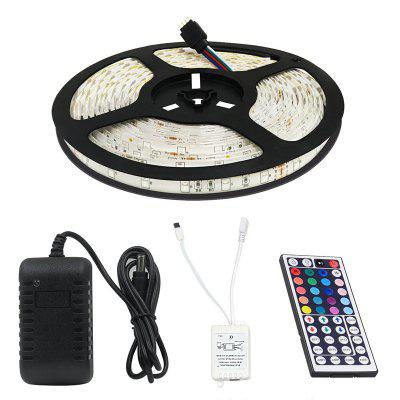 Kwb Led Strip Light 2835 300 Non Waterproof 5M with 44KEY Controller 2A Led Power SupplyLED Strips<br>Kwb Led Strip Light 2835 300 Non Waterproof 5M with 44KEY Controller 2A Led Power Supply<br><br>Beam Angle: 180<br>Brand: KWB<br>Bulb Included: Yes<br>Color Temperature or Wavelength: RGB<br>Features: with Remote Control, Cuttable, Color-changing<br>Initial Lumens ( lm ): RGB<br>LED Quantity: 300<br>Length ( m ): 5<br>Light color: RGB<br>Light Source: LED<br>Light Source Color: RGB<br>Package Content: 1 x LED 2835 Strip Light Non Waterproof , 1 x 44key Controller , 1 x 2A LED Power Supply<br>Package size (L x W x H): 22.00 x 22.00 x 20.00 cm / 8.66 x 8.66 x 7.87 inches<br>Package weight: 0.5000 kg<br>Power Supply: 12V<br>Product size (L x W x H): 20.00 x 20.00 x 15.00 cm / 7.87 x 7.87 x 5.91 inches<br>Product weight: 0.4000 kg<br>Type: RGB Strip Lights<br>Voltage: DC12V<br>Waterproof Rate: IP20<br>Wattage (W): 16