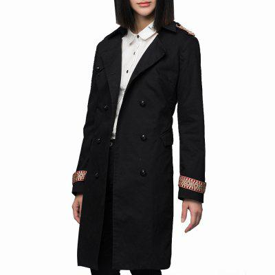 VING Trench Coats Medium Style Long Sleeve Casual Trench Outwear LadyJackets &amp; Coats<br>VING Trench Coats Medium Style Long Sleeve Casual Trench Outwear Lady<br><br>Closure Type: Double Breasted<br>Clothes Type: Trench<br>Collar: Lapel<br>Detachable Fur Collar: No<br>Elasticity: Elastic<br>Embellishment: Embroidery<br>Fabric Type: Twill<br>Material: Cotton<br>Package Contents: 1 x Coat<br>Pattern Type: Solid<br>Shirt Length: Regular<br>Sleeve Length: Full<br>Style: Casual<br>Type: Wide-waisted<br>Weight: 1.0000kg<br>With Belt: No<br>With Fur Collar: No