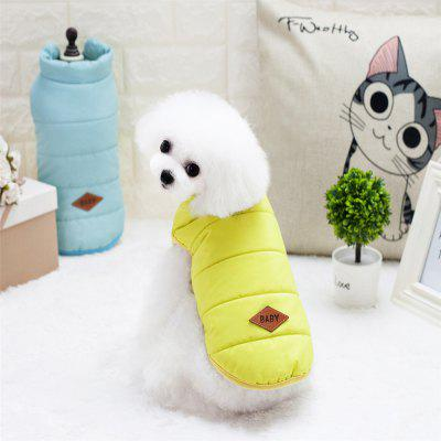 Lovoyager A711 American Classic Cotton Vest Winter Luxury Polar Fleece Dog Coat