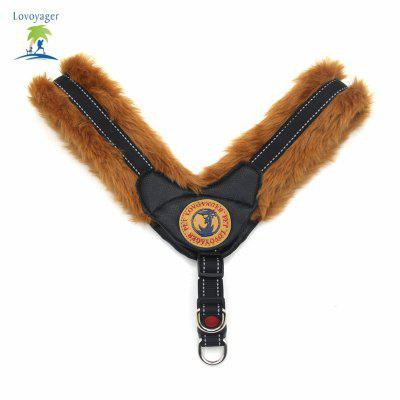 Lovoyager LVHA161223 - 4 Fashion Warm Winter Plush Pet Collar Reflective Harness Training Harness Vest for Small Puppy Large DogDog Carriers<br>Lovoyager LVHA161223 - 4 Fashion Warm Winter Plush Pet Collar Reflective Harness Training Harness Vest for Small Puppy Large Dog<br><br>For: Dogs<br>item: dog collar<br>Material: Plush<br>Package Contents: 1 x Pet Harness Collar<br>Package size (L x W x H): 20.00 x 10.00 x 10.00 cm / 7.87 x 3.94 x 3.94 inches<br>Package weight: 0.1600 kg<br>Season: All seasons<br>Type: Collars