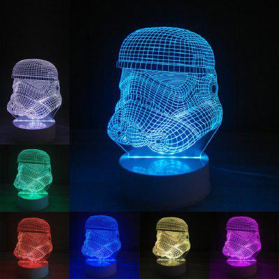 DSU Star Wars Soldier Color Change 3D Visual  LED Table Night Light