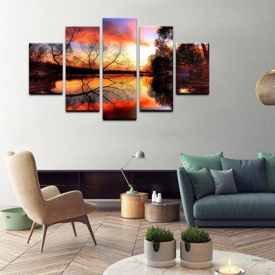 YHHP 5 Panels Landscape in Autumn Print Wall Art on Canvas UnframedPrints<br>YHHP 5 Panels Landscape in Autumn Print Wall Art on Canvas Unframed<br><br>Brand: YHHP<br>Craft: Print<br>Form: Five Panels<br>Material: Canvas<br>Package Contents: 5 x Panel of Print<br>Package size (L x W x H): 42.00 x 10.00 x 10.00 cm / 16.54 x 3.94 x 3.94 inches<br>Package weight: 0.5000 kg<br>Painting: Without Inner Frame<br>Product weight: 0.4000 kg<br>Shape: Any Shape<br>Style: Modern Style<br>Subjects: Landscape<br>Suitable Space: Living Room,Bedroom,Study Room / Office