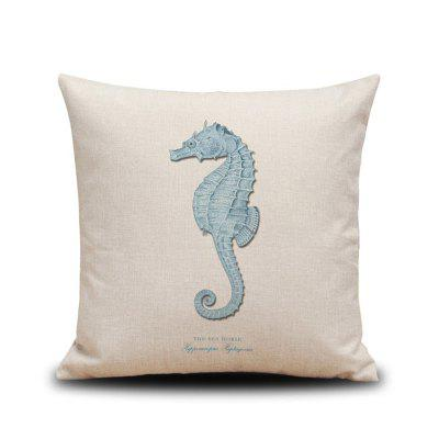 DIHE Set of 4 Ocean Marine Heavy Wind Series Nordic Animal Pillow CoverPillow<br>DIHE Set of 4 Ocean Marine Heavy Wind Series Nordic Animal Pillow Cover<br><br>Category: Pillow Case<br>For: All<br>Material: Linen<br>Occasion: Bedroom, KTV, Bar<br>Package Contents: 4 ? Pillow Cover<br>Package size (L x W x H): 45.00 x 45.00 x 1.00 cm / 17.72 x 17.72 x 0.39 inches<br>Package weight: 0.4000 kg<br>Product size (L x W x H): 45.00 x 45.00 x 1.00 cm / 17.72 x 17.72 x 0.39 inches<br>Product weight: 0.3600 kg