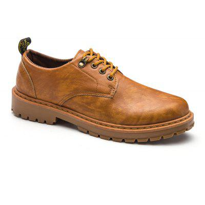 Fall British Boots Men Casual Shoes Breathable Board Shoes Boots Martin Boots